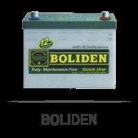 Boliden แบตเตอรี่รถยนต์
